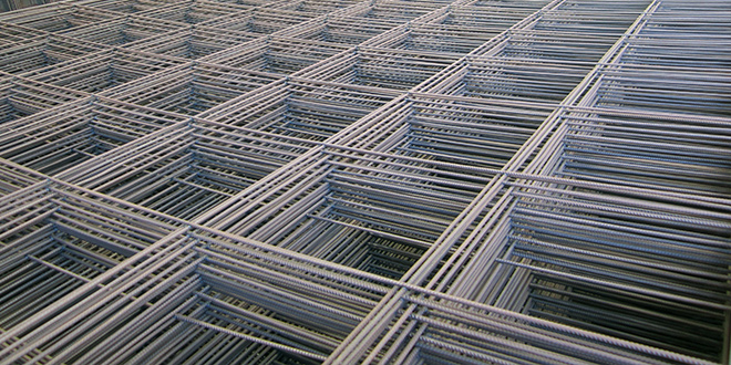 SL53 Steel Mesh stacked.